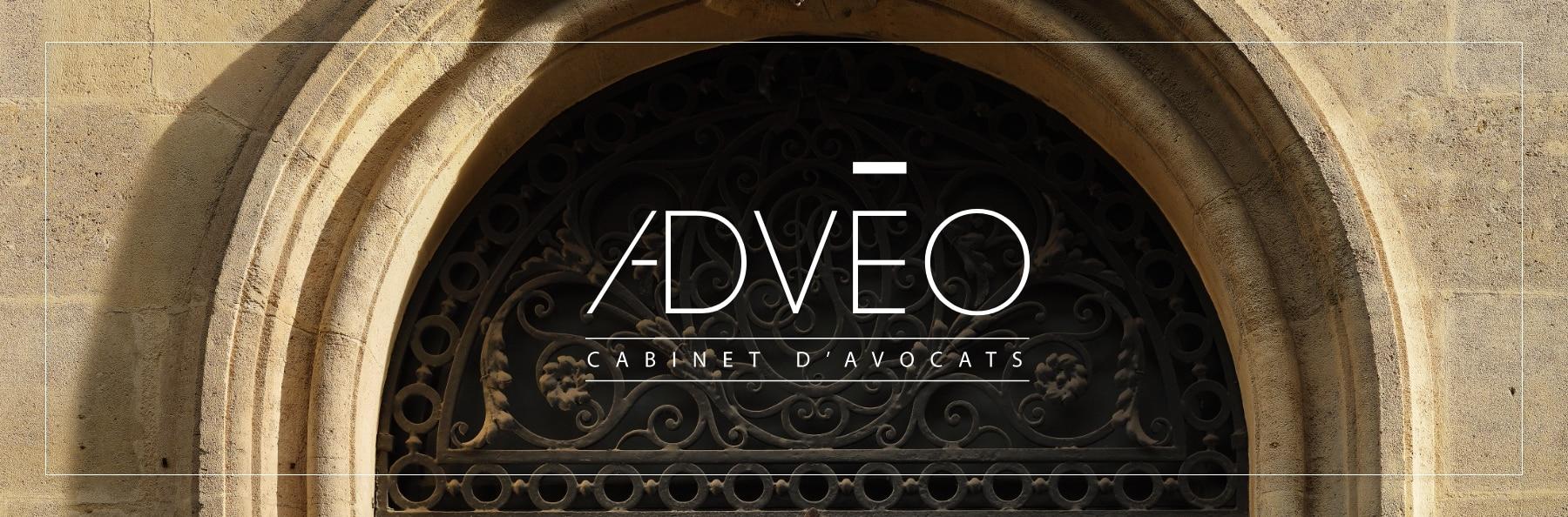 Adveo Avocats, accueil du site